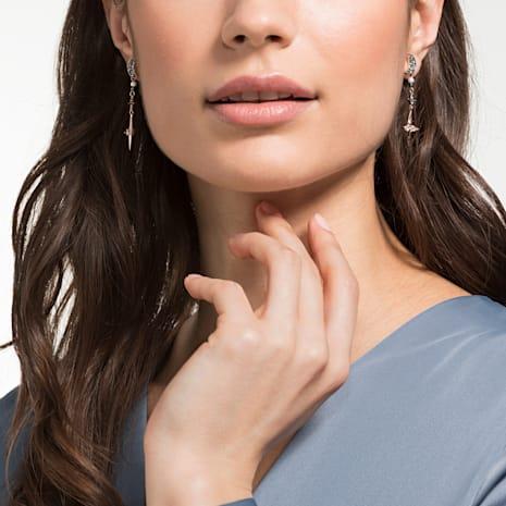 Swarovski Symbolic Pierced Earring Jackets, Multi-coloured, Mixed metal finish - Swarovski, 5489533