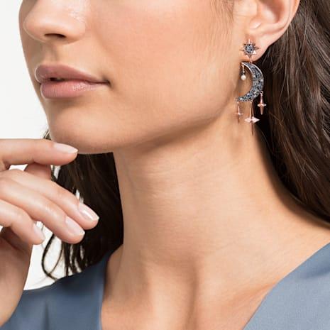 Swarovski Symbolic Pierced Earrings, Multi-coloured, Mixed metal finish - Swarovski, 5489536