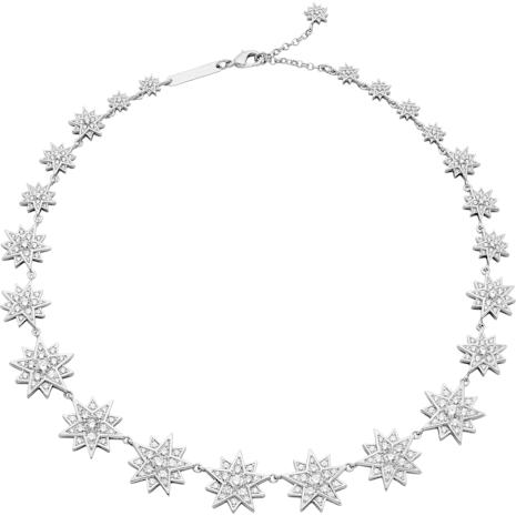 Collana Penélope Cruz Moonsun, Edizione Limitata, bianco, Placcatura rodio - Swarovski, 5489764