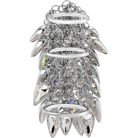 Polar Bestiary Cocktail Ring, mehrfarbig, Rhodiniert - Swarovski, 5490239