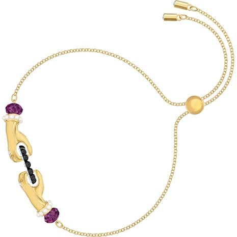 Bracelet Tarot Magic, multicolore, Métal doré - Swarovski, 5490914