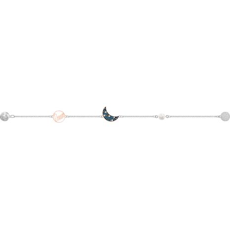 Swarovski Remix Collection Moon Strand, multicolor, Combinación de acabados metálicos - Swarovski, 5490934