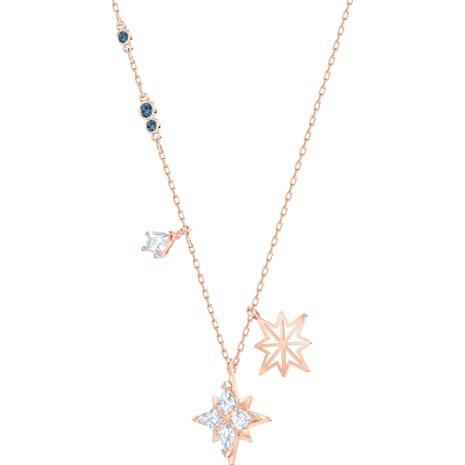 Swarovski Symbolic Star Anhänger, weiss, Rosé vergoldet - Swarovski, 5494352