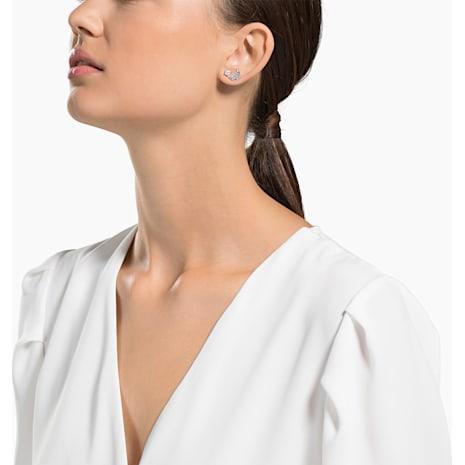 Swarovski Symbolic 穿孔耳環套裝, 多色設計, 鍍玫瑰金色調 - Swarovski, 5494353