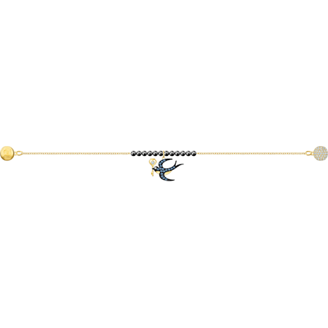 Swarovski Remix Collection Swallow Strand, mehrfarbig, Vergoldet - Swarovski, 5494381