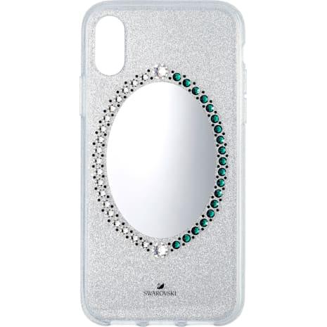 Black Baroque Smartphone Case, iPhone® X/XS, Gray - Swarovski, 5494431