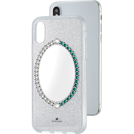 Black Baroque Smartphone Case, iPhone® X/XS, Grey - Swarovski, 5494431