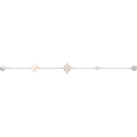 Swarovski Remix Collection Star Strand, Multi-coloured, Mixed metal finish - Swarovski, 5494886
