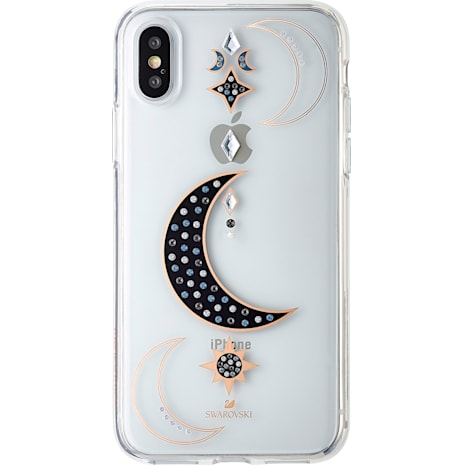 DUO Smartphone Case, iPhone® X/XS, Transparent - Swarovski, 5495742