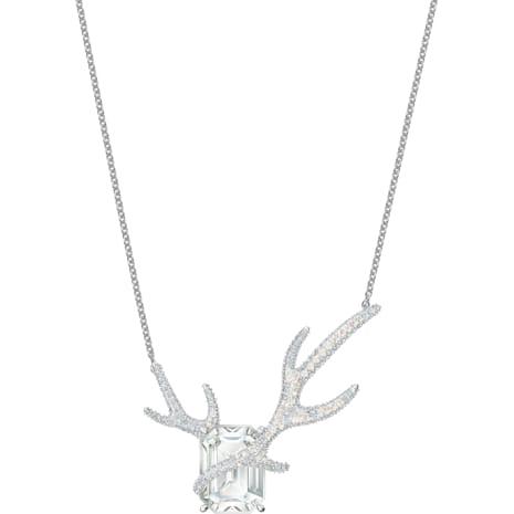 Collana Polar Bestiary, multicolore, Placcatura rodio - Swarovski, 5497638