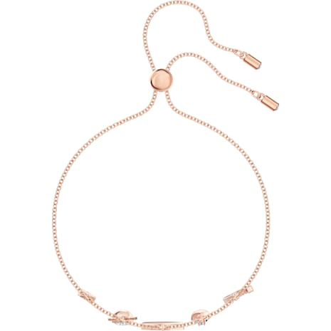 Bracelet Swarovski Symbolic, multicolore, Métal doré rose - Swarovski, 5497668