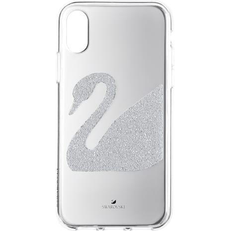 Swan Smartphone Case, iPhone® X/XS, Grey - Swarovski, 5498552