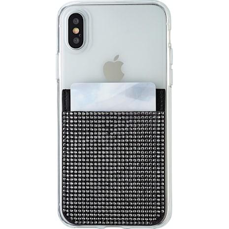 Swarovski Smartphone Tache zum Aufkleben, schwarz - Swarovski, 5498747