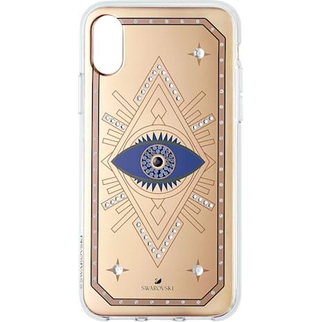 Tarot Eye Smartphone Schutzhülle, iPhone® X/XS, Rotgold - Swarovski, 5499821
