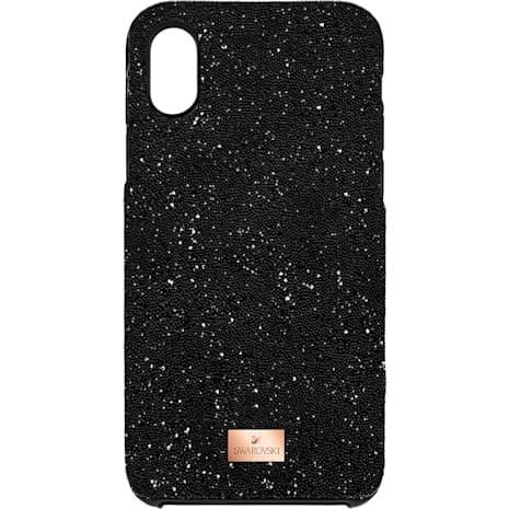 High Koruyucu entegre edilmiş Akıllı Telefon Kılıfı, iPhone® X/XS, Siyah - Swarovski, 5503550