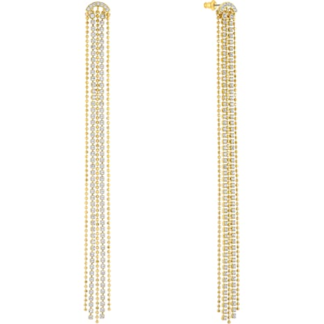 Fit , White, Gold-tone plated - Swarovski, 5504572