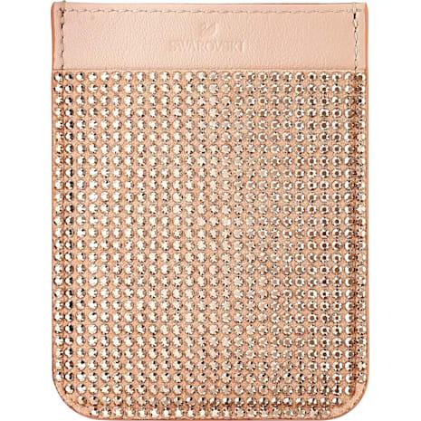 Swarovski Smartphone sticker pocket, Rose Gold - Swarovski, 5504673