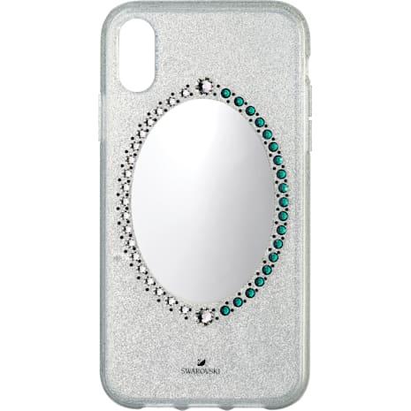 Black Baroque Smartphone Schutzhülle, iPhone® XR, grau - Swarovski, 5504674