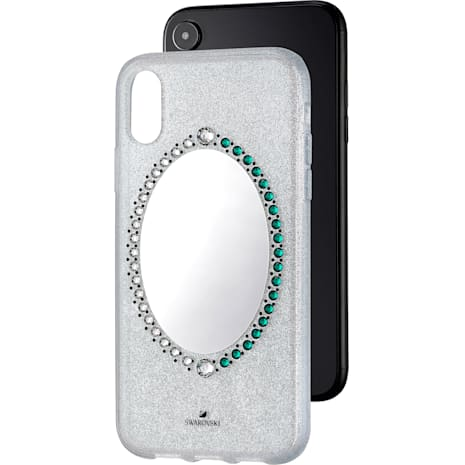 Black Baroque Smartphone Case, iPhone® XR, Gray - Swarovski, 5504674