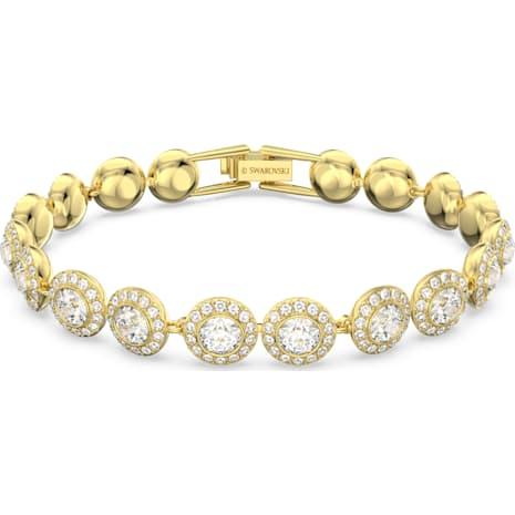 Angelic Bracelet, White, Gold-tone plated - Swarovski, 5505469