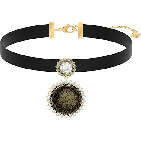 Millennium Choker, Multi-colored, Gold-tone plated - Swarovski, 5505651