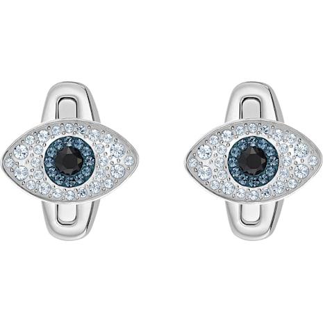 Unisex Evil Eye Cuff Links, Multi-coloured, Stainless steel - Swarovski, 5506081