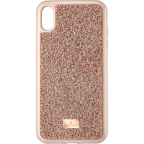 Glam Rock Smartphone Case, iPhone® XS Max, Pink Gold - Swarovski, 5506307