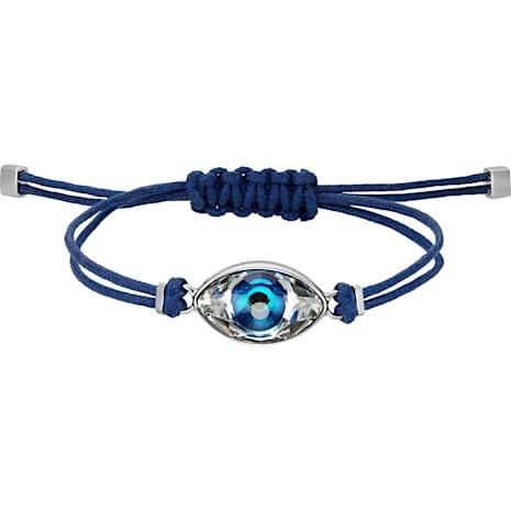 Swarovski Power Collection Evil Eye 手鏈, 藍色, 不銹鋼 - Swarovski, 5506865