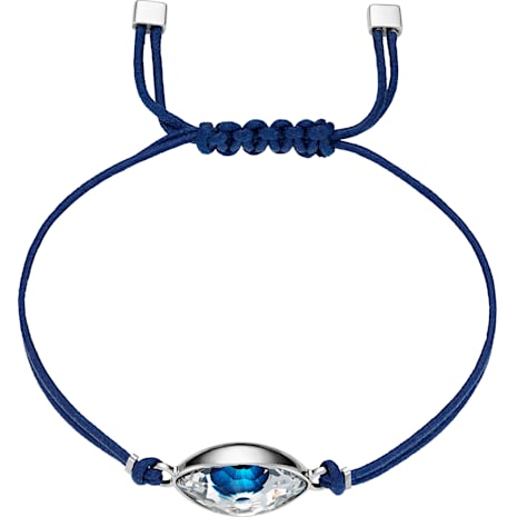 Swarovski Power Collection Evil Eye Armband, blau, Edelstahl - Swarovski, 5506865