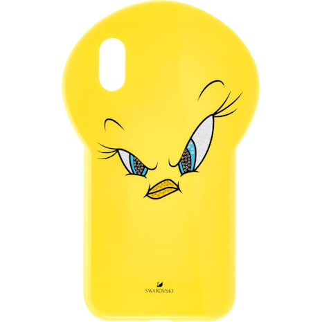 Looney Tunes Tweety Smartphone Case, iPhone® XR, Yellow - Swarovski, 5507271