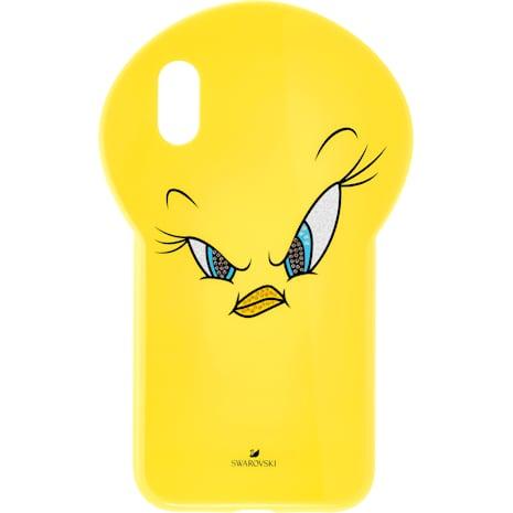 Looney Tunes Tweety Smartphone Schutzhülle, iPhone® XR, gelb - Swarovski, 5507271