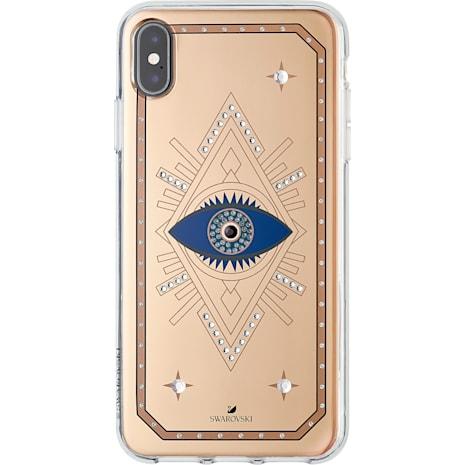 Tarot Eye Smartphone Schutzhülle, iPhone® XS Max, Rotgold - Swarovski, 5507388