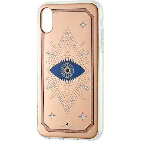 Tarot Eye Smartphone Schutzhülle, iPhone® XR, Rotgold - Swarovski, 5507389