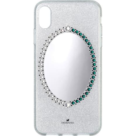 Black Baroque Smartphone Schutzhülle, iPhone® XS Max, grau - Swarovski, 5507554