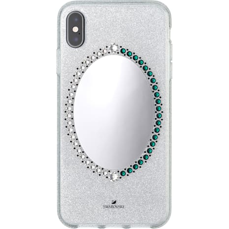 Black Baroque Smartphone Case, iPhone® XS Max, Gray - Swarovski, 5507554