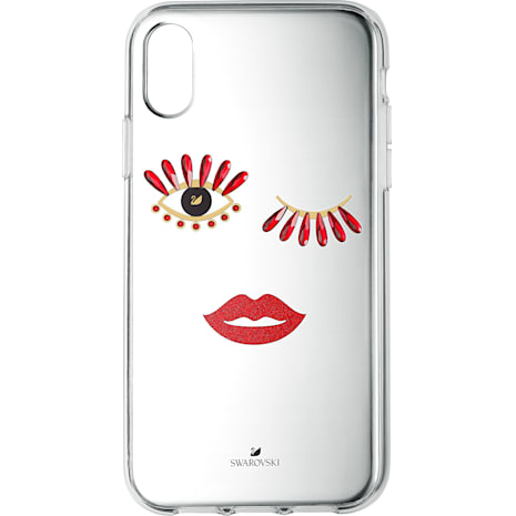 New Love Smartphone Schutzhülle, iPhone® XS Max - Swarovski, 5507692