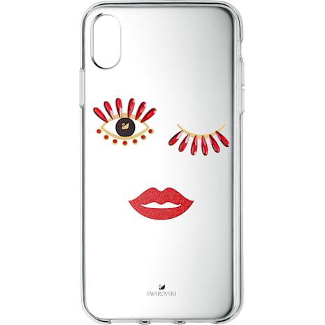 New Love Smartphone Schutzhülle, iPhone® XR - Swarovski, 5507693
