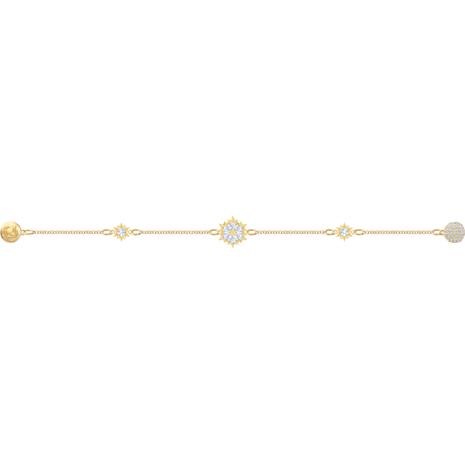 Swarovski Remix Collection Snowflake Strand, weiss, Vergoldet - Swarovski, 5507887