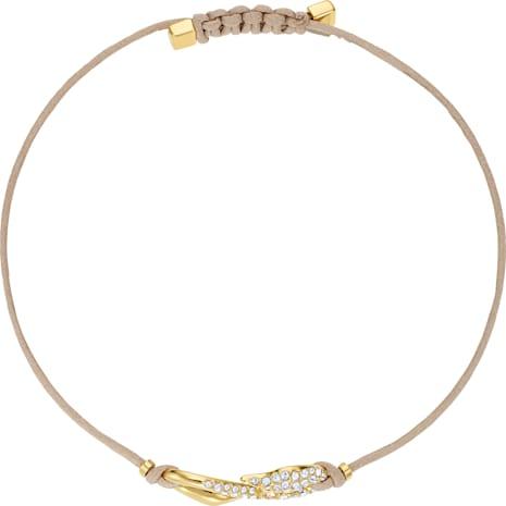 Swarovski Power Collection Hook Armband, beige, Vergoldet - Swarovski, 5508527