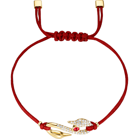 Bracelet Swarovski Power Collection Hook, rouge, Métal doré - Swarovski, 5508530