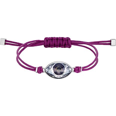 Swarovski Power Collection Evil Eye Armband, violett, Edelstahl - Swarovski, 5508534