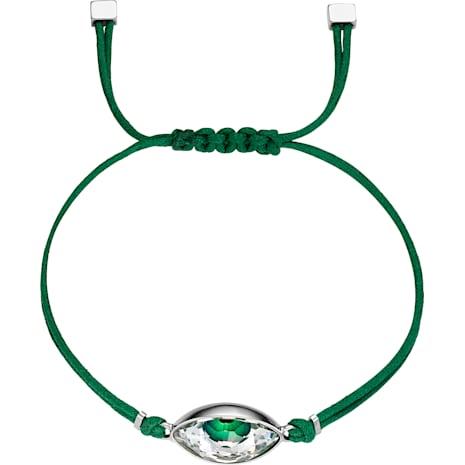 Swarovski Power Collection Evil Eye Armband, grün, Edelstahl - Swarovski, 5508535