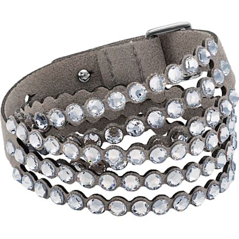 Pulsera Swarovski Power Collection, gris - Swarovski, 5511698