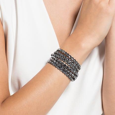 Swarovski Power Collection Bracelet, Dark grey - Swarovski, 5512509