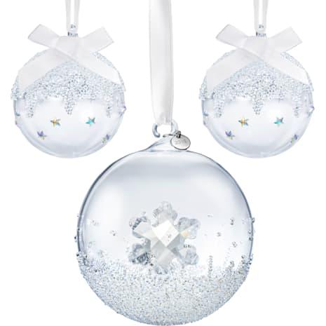 Set en ligne Ornements Boules de Noël 2019 - Swarovski, 5539026