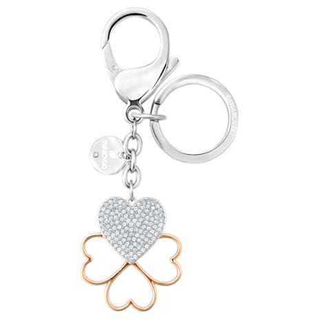 Cupid Bag Charm, White, Mixed plating - Swarovski, 5201645