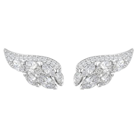 Aloft Pierced Earrings - Swarovski, 5240493
