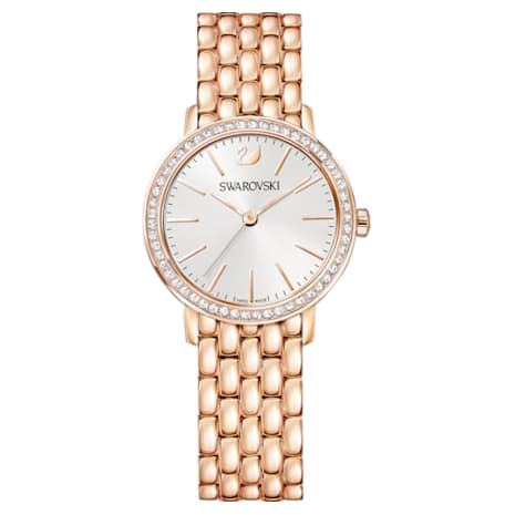 Graceful Uhr, Metallarmband, Rosé vergoldetes PVD-Finish - Swarovski, 5261490