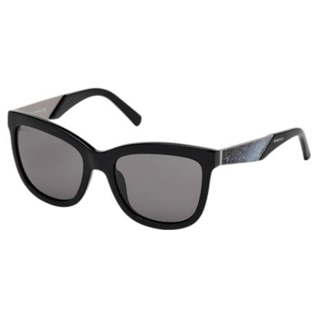 Swarovski Sunglasses, SK0125-F 01E, Black - Swarovski, 5294046