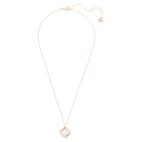 Heap Pendant, Beige, Rose-gold tone plated - Swarovski, 5358827